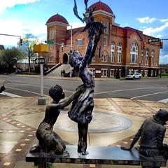 Four Little Girls and the 16th Street Baptist Church, Kelly Ingram Park, Birmingham, Alabama