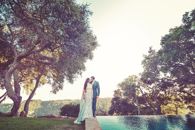 Wedding in Santa Barbara by Rollofilm