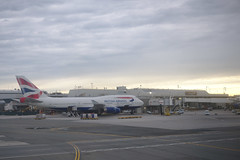 British Airways plane at JFK