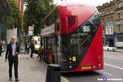 Wrightbus NRM NBFL - LTZ 1374 - LT374 - Leyton Bakers Arms 55 - Stagecoach - London 2017 - Steven Gray - IMG_1244