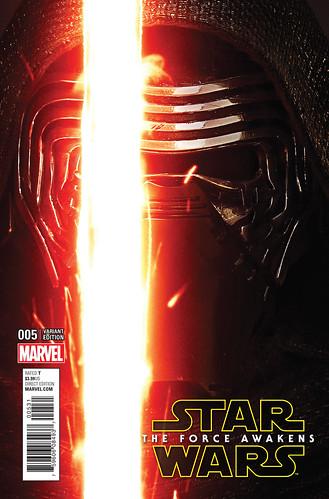 Star Wars - The Force Awakens Adaptation 005-000c ('Movie' variant) (Mastodon)