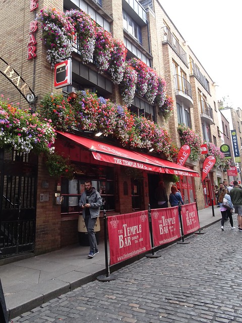Flowers at a Pub