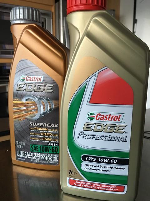 Castrol Edge Supercar Vs Castrol Edge Professional
