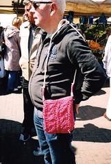 foto-estafette mooi roze regine