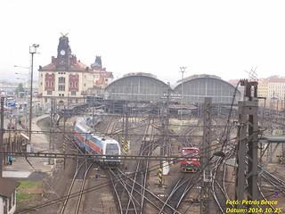 Prágai Főpályaudvar, 2014. 10. 25.