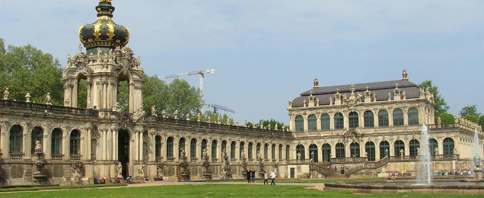 Stedentrip Dresden, bezoek het Zwinger | Mooistestedentrips.nl