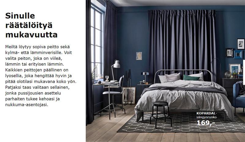 makuuhuone-petroolinsininen