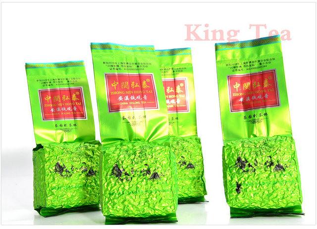 Free Shipping TieGuanYin ZhongMinHongTai China  FuJian AnXi Chinese Oolong Cha TieKuanYin 125g*4=500g Premium