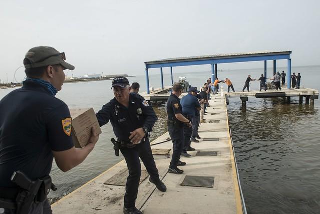 Coast Guard relief efforts underway in Ponce, Puerto Rico