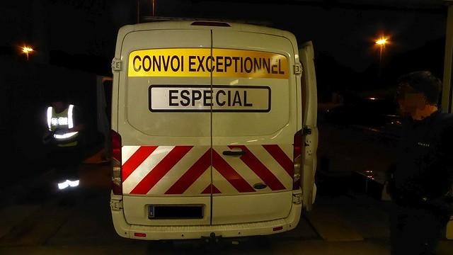 Stupéfiants découverts dans un convoi exceptionnel à Hendaye