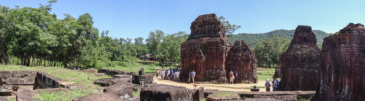 Mỹ Sơn Sanctuary in Vietnam