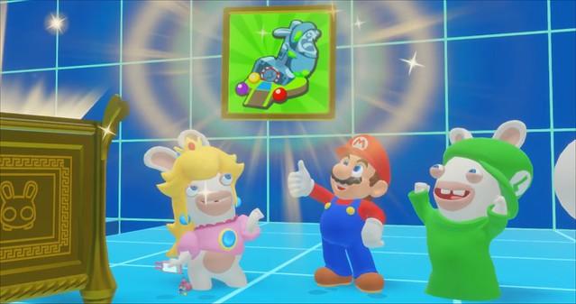 Mario + Lapins - Items