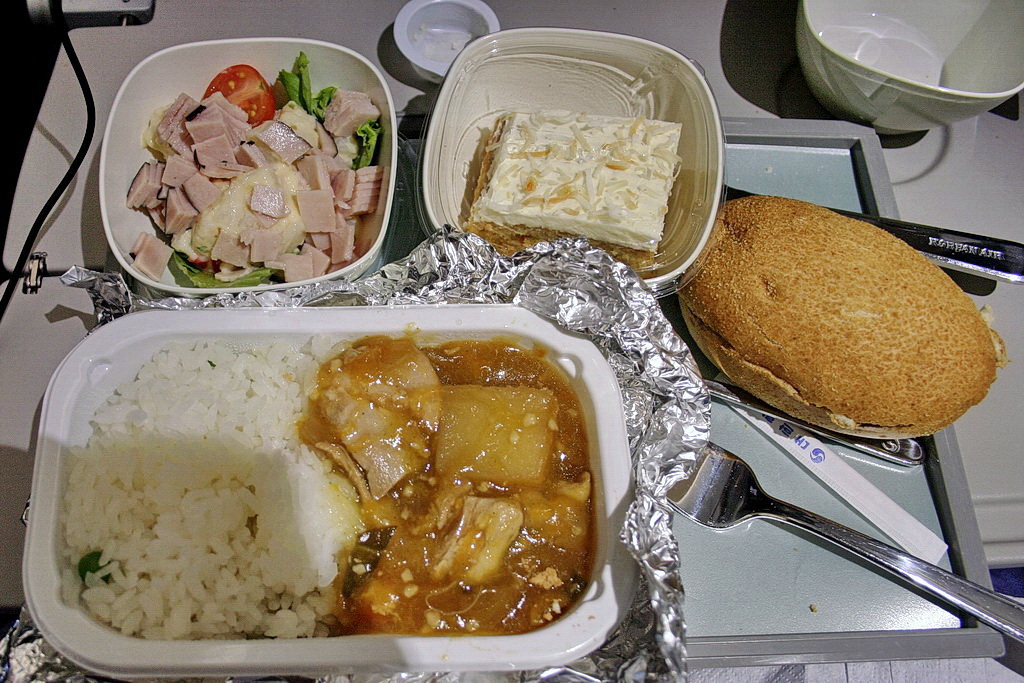 Korean Air in-flight meals (2)