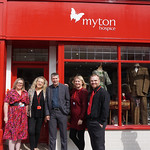 Our new charity shop on Far Gosford Street is officially open