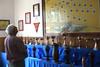 Ausstellung der Wettbewerbspokale im Feuerwehrheim