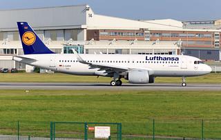 A320-271N, Lufthansa, D-AUBW (MSN 7648) D-AINH