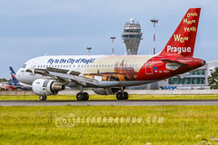 Airbus A319 Prague cityofmagic Сzech Airlines Planespotting at Pulkovo ( LED), Saint-Petersburg, Russia by The best from aviation