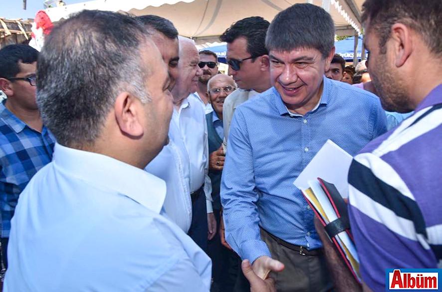 ALTSO Başkan Adayı Mustafa Tuna, Taşatan Yolu çalışmaları için Menderes Türel'e teşekkür etti