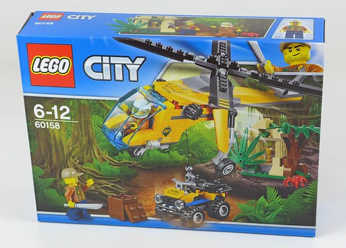 LEGO City Jungle 60158 Jungle Cargo Helicopter 01
