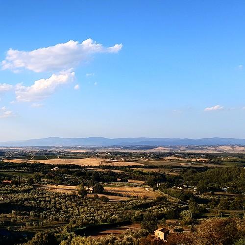Panorama da Chianciano Terme