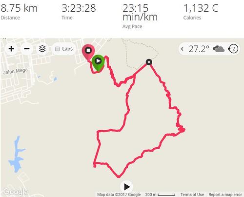 Saga Hike Trail