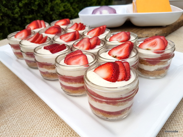Strawberry Cheescake Parfait