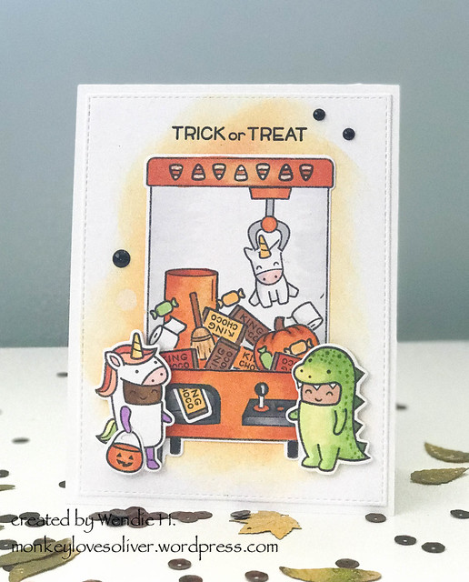 Trick or treat / Clawsome Costume Party
