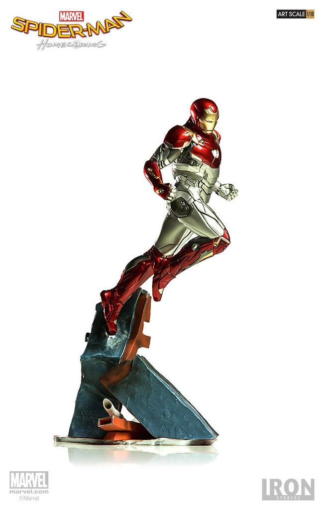 Iron Studios Battle Diorama 系列 蜘蛛人:返校日【鋼鐵人馬克47】Spider-Man: Homecoming Iron Man Mark XLVII 1/10 比例決鬥場景作品