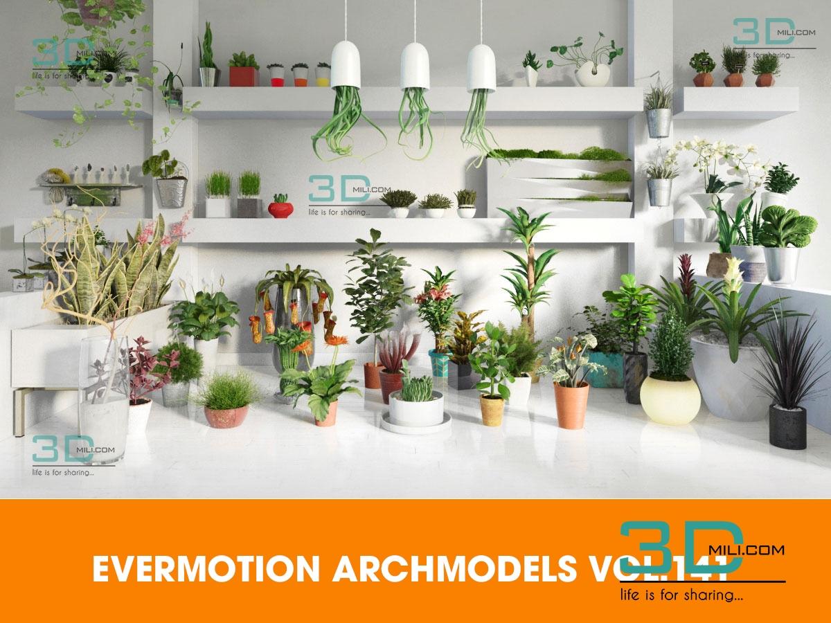 EVERMOTION ARCHMODELS VOL 141 - 3D Mili - Download 3D Model - Free