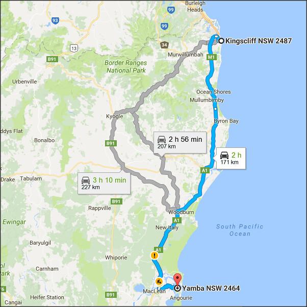 Surfers Paradise Sydney Road Trip