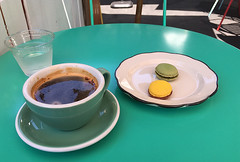 Mint and Honey - Coffee and Macarons