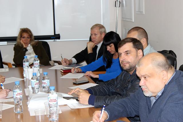 Участники совместного совещания членов АРПП с КП «Мосгорпечать»