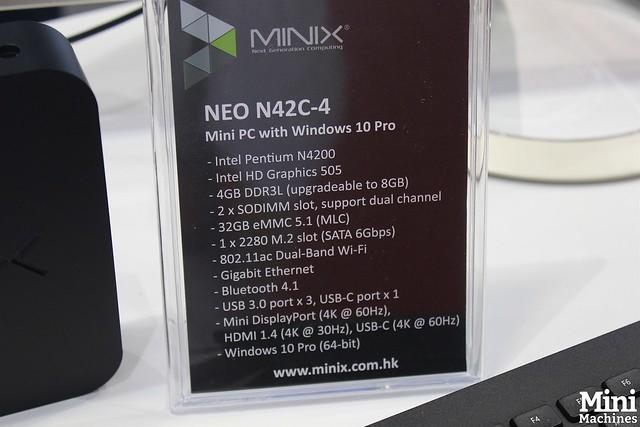 Minix NEO N42C-4 - 00