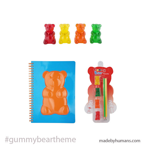 Cool Gummy Bear Photo Holders, Journal and Pencils - Made By Humans 2 - BEST GIFT IDEAS