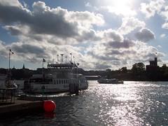 Stockholm ferries criss-cross between the city's islands