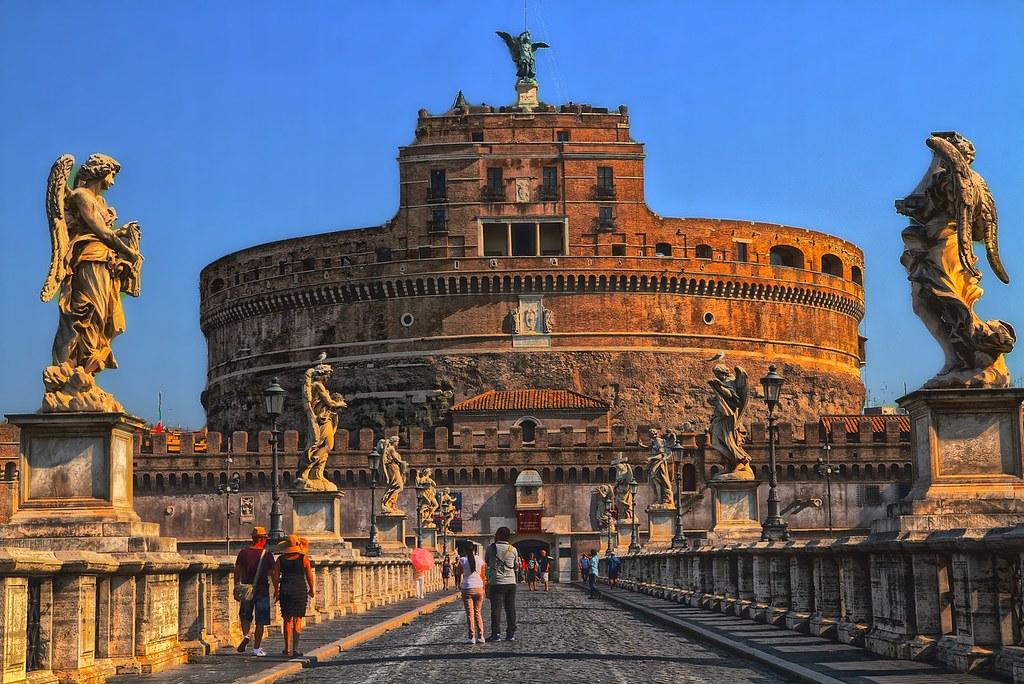 Mausoleo de Adriano en Roma