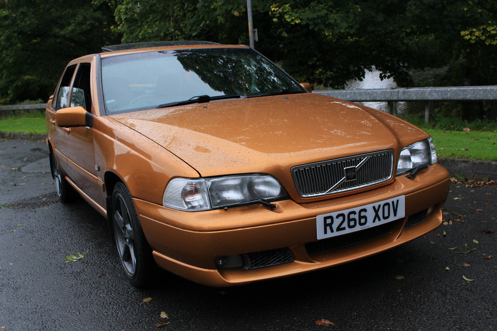 1998 Volvo S70 R Manual - Saffron Gold For Sale! - Volvo Owners Club ...
