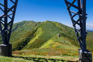 鉄塔から清水峠