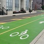 Sinatra Drive two-way bike lane