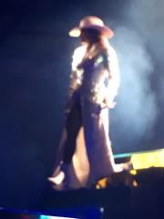 Blurry Gaga up close