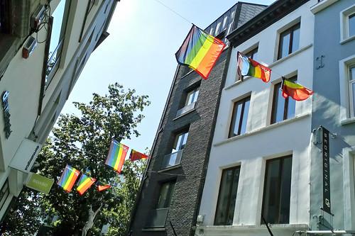 Antwerp Pride flags