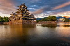 Matsumoto castle @ Sunset