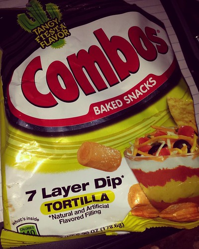 I love Combos and I am not ashamed! #yum #junkfood #combos