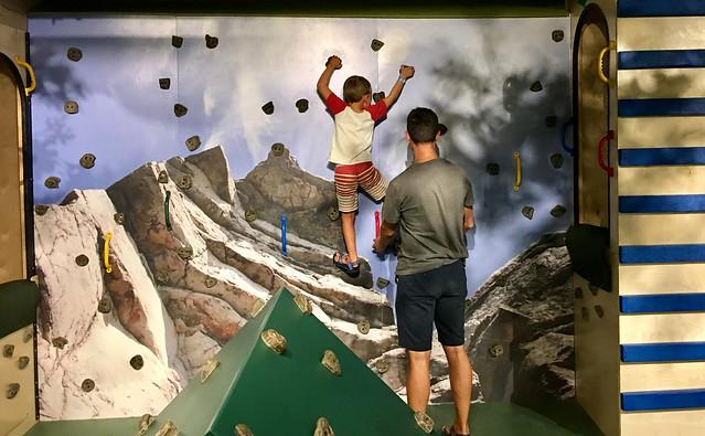 Kids Square - Rock Wall