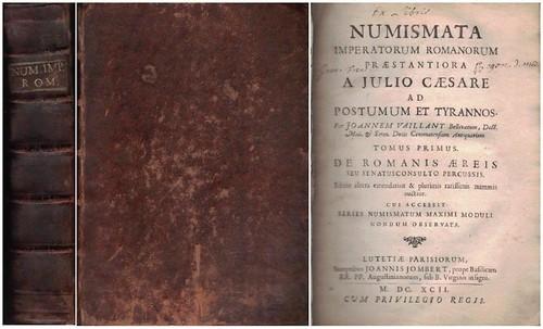 Vaillant, J. Numismata imperatorum romanorum