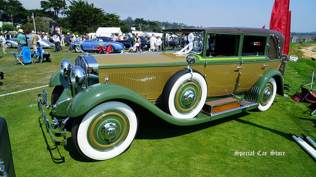 1928 Isotta Fraschini Tipo Castagna Imperial Landau at Pebble Beach Concours d'Elegance 2017