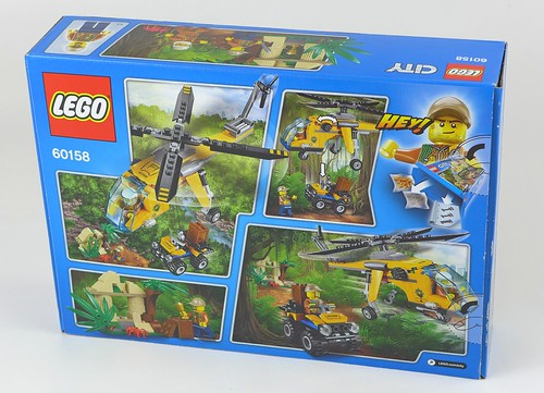 LEGO City Jungle 60158 Jungle Cargo Helicopter 02