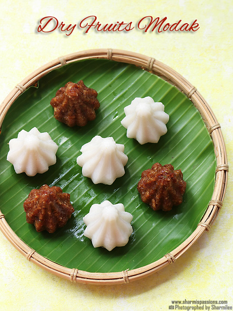 dry fruits modak recipe