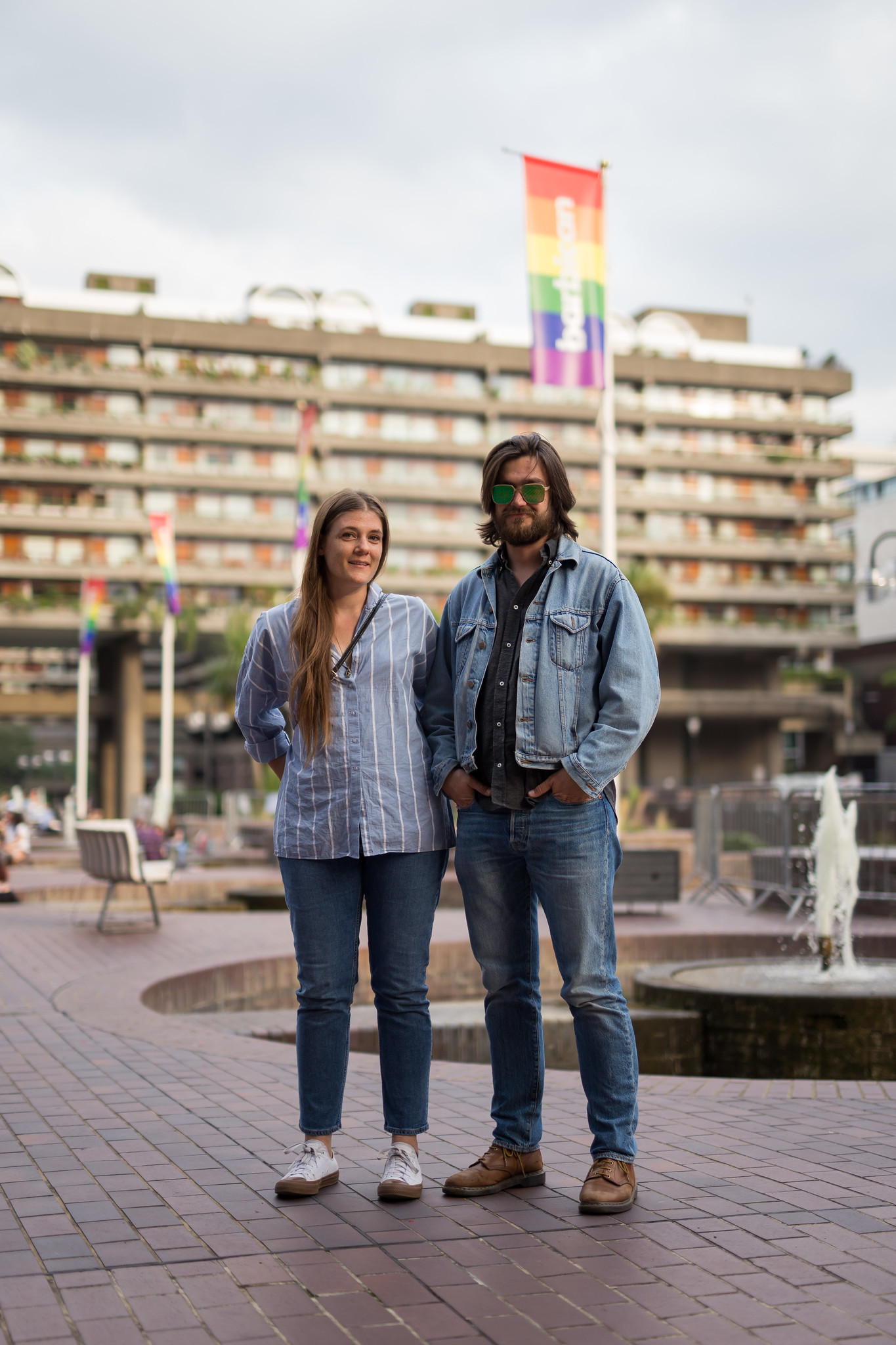 Street Style - Ryan & Phil, Barbican Centre