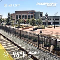 Arcadia Gold Line Station